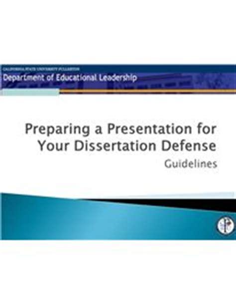 Dissertation defence presentation ppt